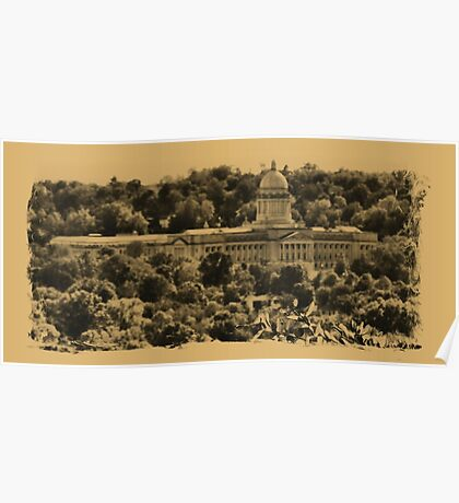 """""""The Kentucky State Capital Building""""... prints and products Poster"""