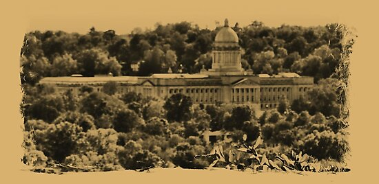 """""""The Kentucky State Capital Building""""... prints and products by Bob Hall©"""