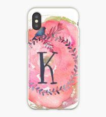 Pretty in Pink - K iPhone Case