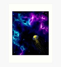 Sky Jelly Art Print