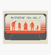 Awesome Mix Photographic Print