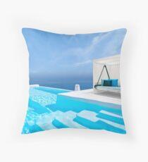 Santorini, Greece Throw Pillow