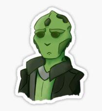 thane krios Sticker