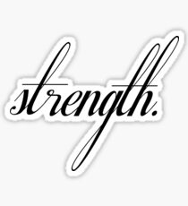 Strength Sticker