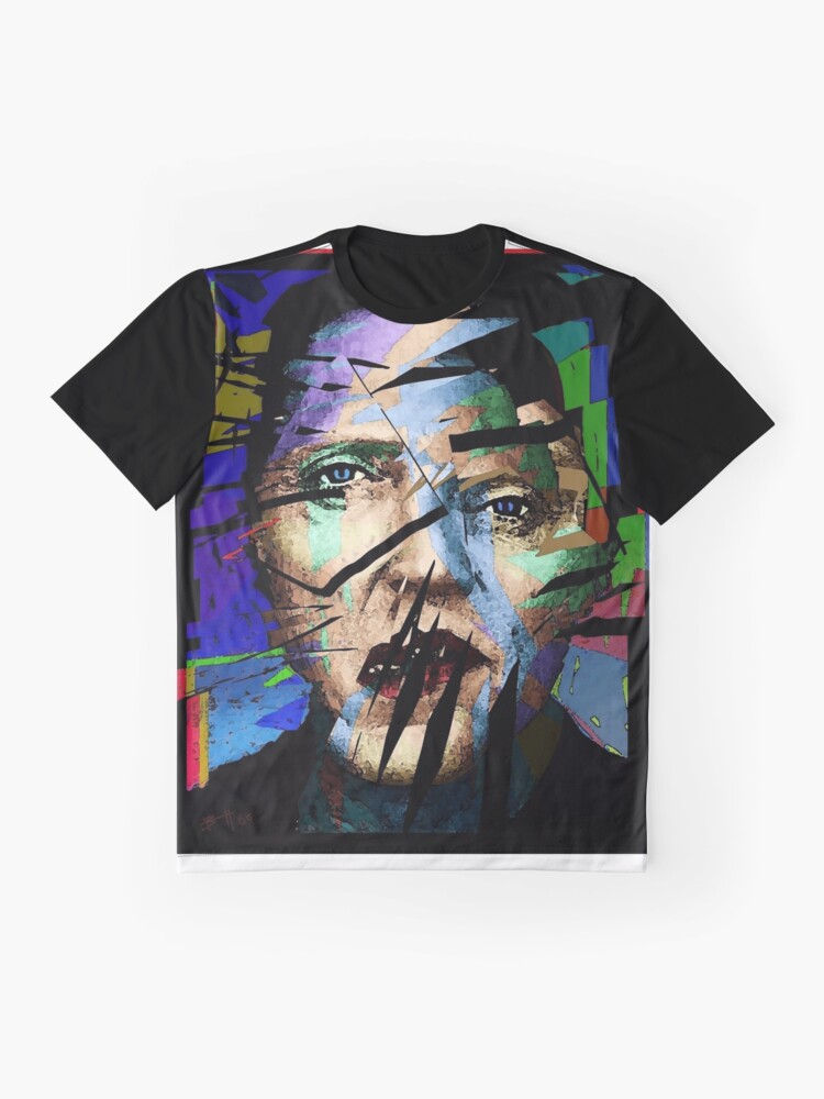 5e948b13 Alternate view of Christopher Walken. Cracked Actor. Graphic T-Shirt