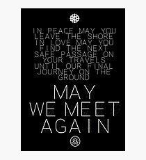 May We Meet Again Constellation Photographic Print