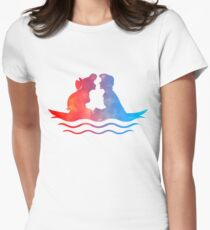 Boat Ride Kiss Womens Fitted T-Shirt