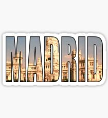 Madrid Sticker
