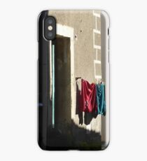 Wash day wall. iPhone Case