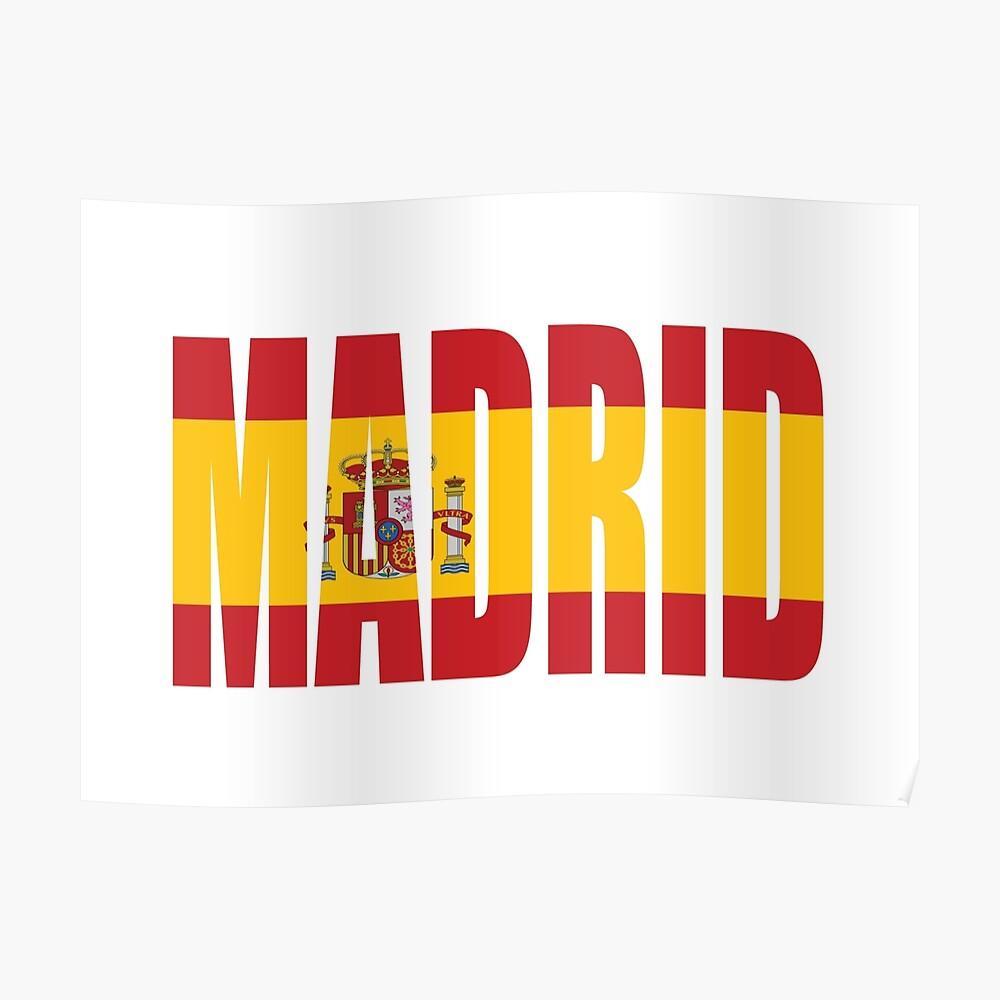 Madrid. Póster