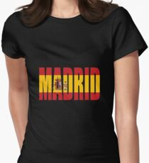 Madrid. Women's Fitted T-Shirt
