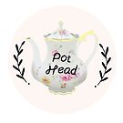 Tea Pot Head by prouddaydreamer