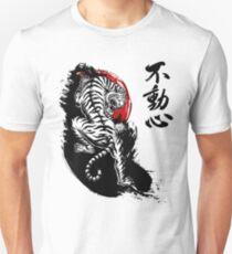 Japanese Tiger with Fudoshin Kanji T-Shirt