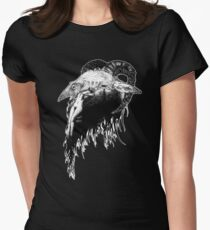 Black Goat Women's Fitted T-Shirt