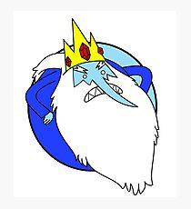 Adventure Time - Ice King Photographic Print