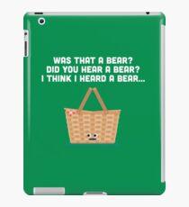 Character Building - Picnic Basket iPad Case/Skin