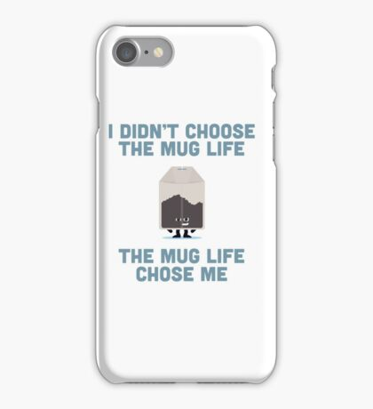 Character Building - Mug Life iPhone Case/Skin