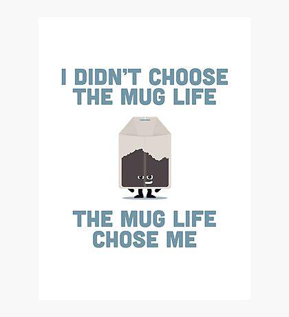 Character Building - Mug Life Photographic Print