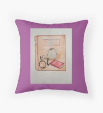 Sherlock Holmes A Study in Scarlet. Throw Pillow