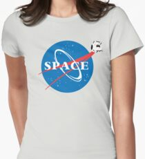 Portal Space Women's Fitted T-Shirt