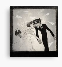 Paperman- Wedding Canvas Print