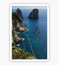 The Mediterranean Magic of Capri  Sticker