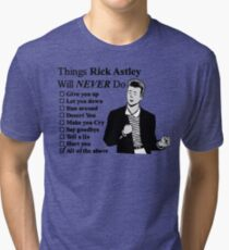 All of the above Tri-blend T-Shirt