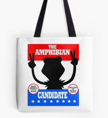 The Amphibian Candidate Tote Bag