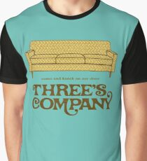 Camiseta gráfica Compañía de tres