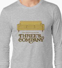 Camiseta de manga larga Compañía de tres