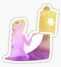 Floating Lights Sticker