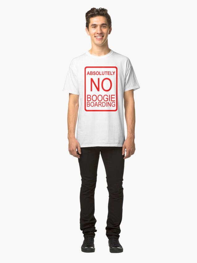 Alternative Ansicht von Absolut kein Boogie Boarding Classic T-Shirt