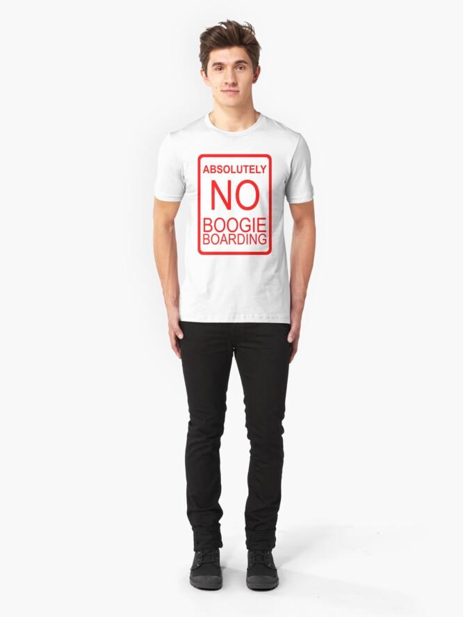 Alternative Ansicht von Absolut kein Boogie Boarding Slim Fit T-Shirt