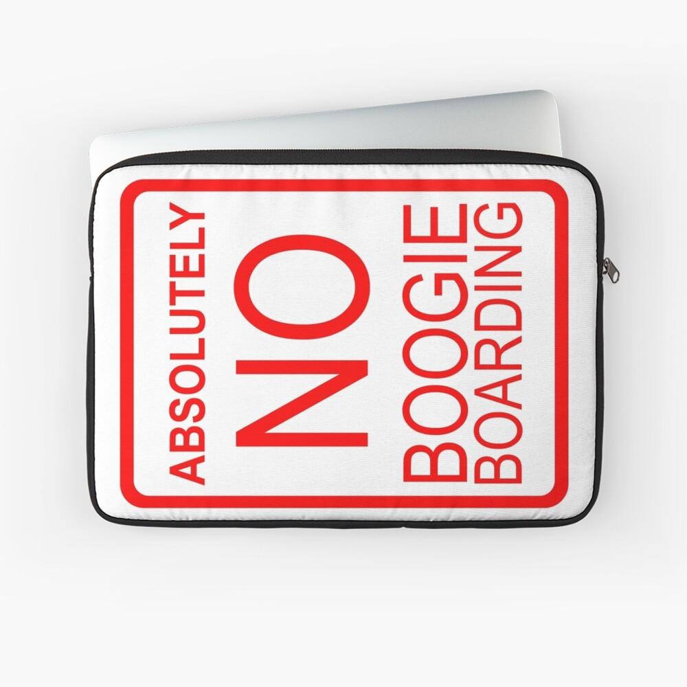 Absolut kein Boogie Boarding Laptoptasche