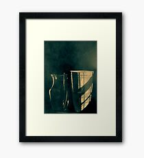In the room Framed Print