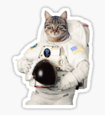 ASTRO CAT GLOBAL CITIZEN Sticker