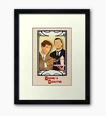 Jeeves and Wooster Framed Print