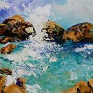 Rockpools by Cathy Gilday