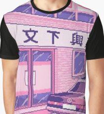 Tokio Grafik T-Shirt