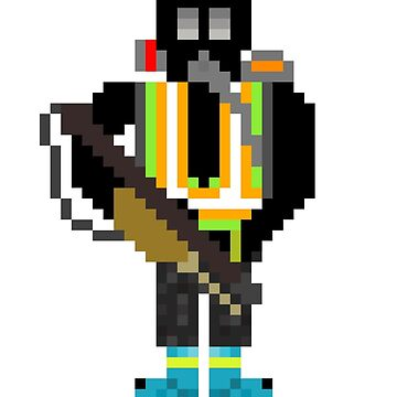 The Division - Pixelated Cleaner by darkdude5555
