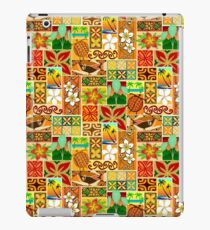Hawaiian Blocks 002 iPad Case/Skin