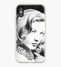 Lauren Bacall, one of the greatest female star of Classic Hollywood! iPhone Case