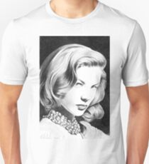 Lauren Bacall, one of the greatest female star of Classic Hollywood! T-Shirt