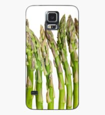 Asparagus Isolated On White Background Case/Skin for Samsung Galaxy