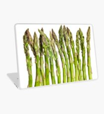Asparagus Isolated On White Background Laptop Skin