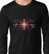 Energetic Geometry - Tribal Communion  Long Sleeve T-Shirt