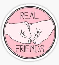 Real Friends Logo Sticker