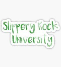 Slippery Rock University (SRU) Sticker
