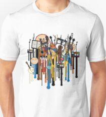 melting faces instruments T-Shirt