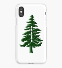 Oregon Tree iPhone Case/Skin